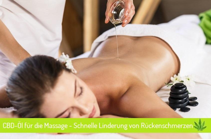 CBD-Öl für die Massage